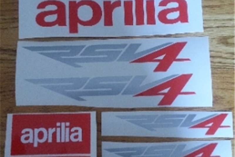 Aprilia RSV4 stickers decals graphics kit 0