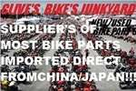 Bajaj BRAND NEW PARTS ONLY @CLIVES BIKES SA!! 0