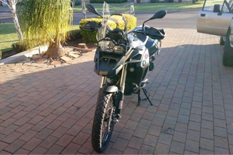 BMW F650 GS Adventure 2016
