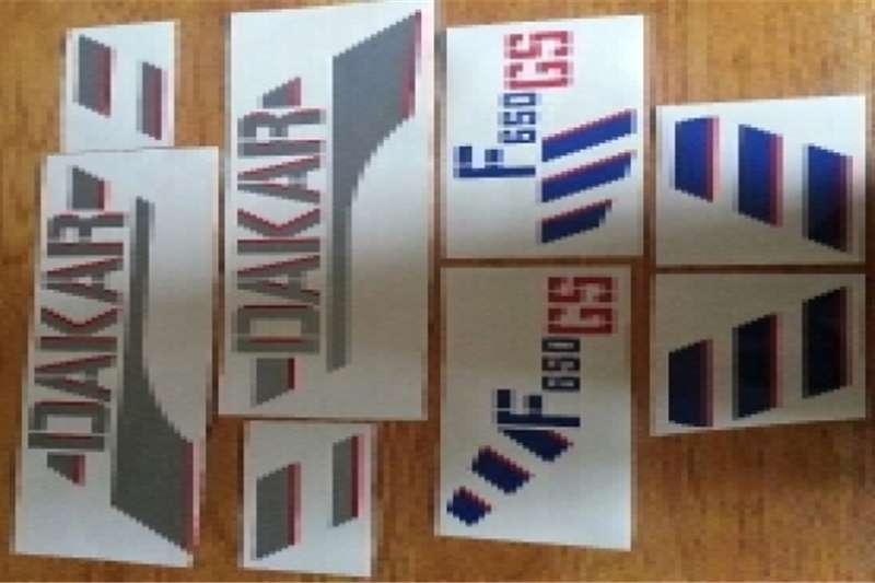 BMW F650 GS graphics decals kits 0