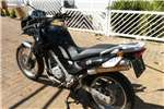 BMW F650 GS with top box 2006