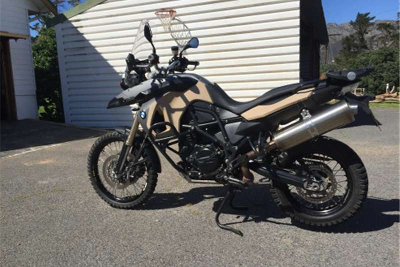 BMW F800 GS MOTORCYCLE 2008