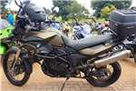 BMW F800 GS with lots of extras 2014