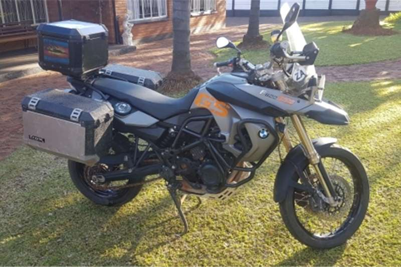 BMW F800 GS with many extras 2008