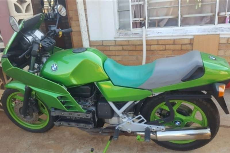 BMW K100 MOTORCYCLE FOR SALE OR FOR SWOP FOR VEHICLE O 0