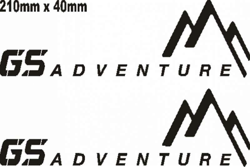 BMW R1200 GS Adventure FL decals graphics 0