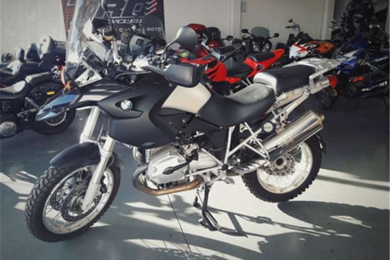 BMW R1200GS Black 2007
