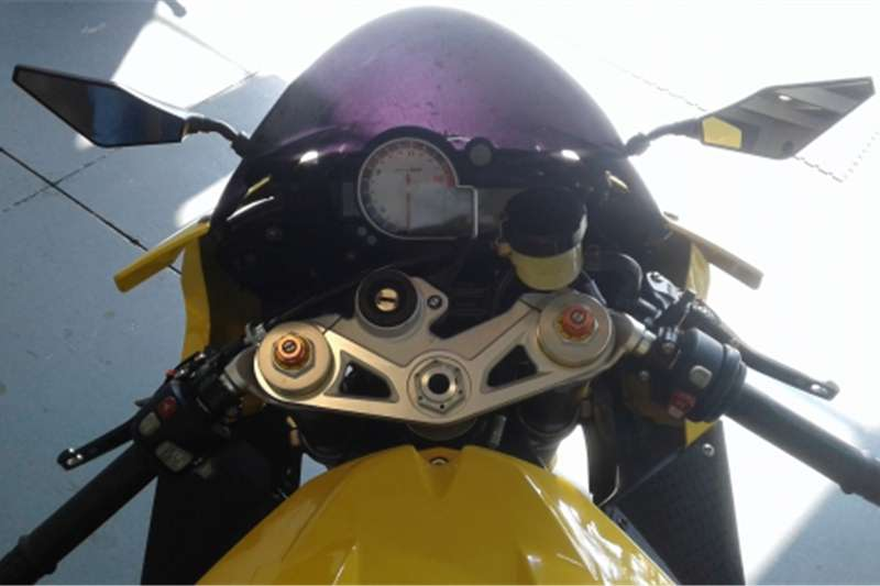 BMW S 1000 RR Yellow 2012