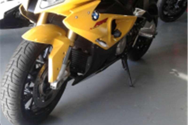 BMW S 1000 RR Yellow 2012