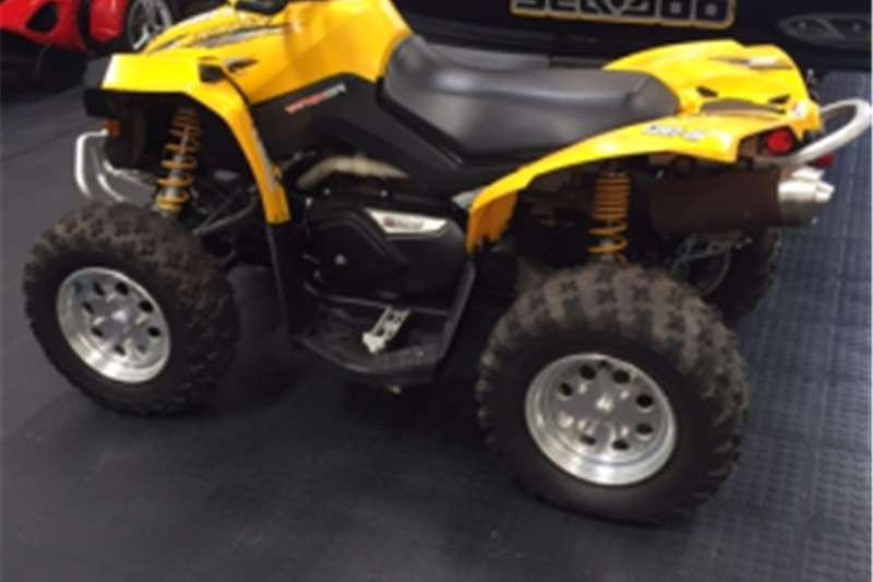 Can-Am Renegade 4X4 !!!! 2007