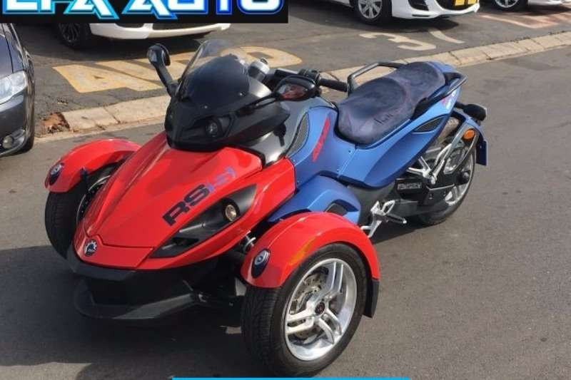 can am spyder bikes for sale used motorbikes autos post. Black Bedroom Furniture Sets. Home Design Ideas