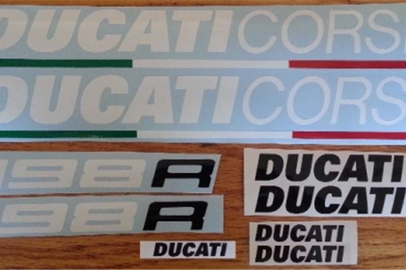 Ducati 1198R decals stickers graphics kit 0