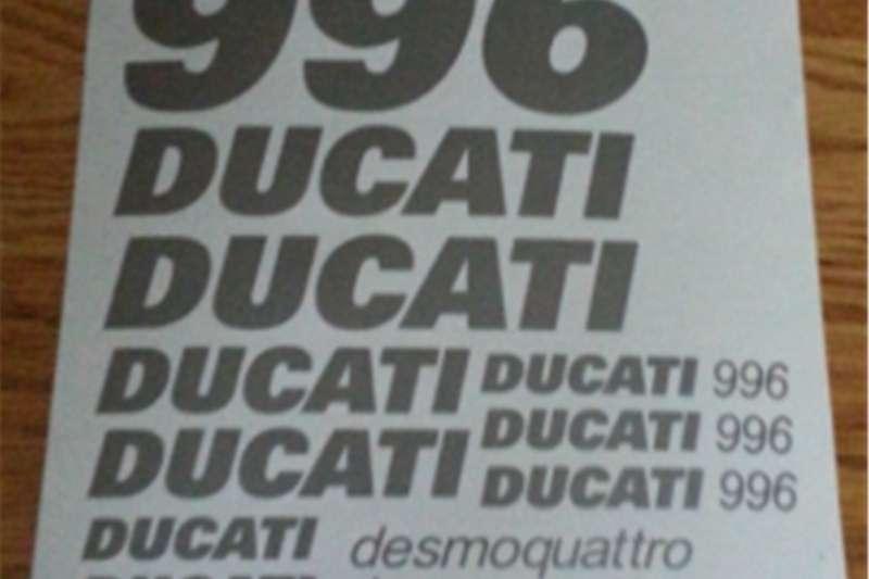 Ducati 996 Desmoquattro decals stickers graphics kit 2001