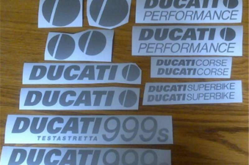 Ducati decals stickers graphics sets 0