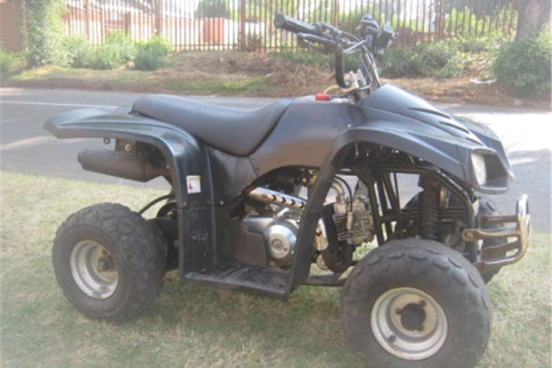Euro-Trac 110cc Quad Bike   Fully Automatic   R3 900 2008