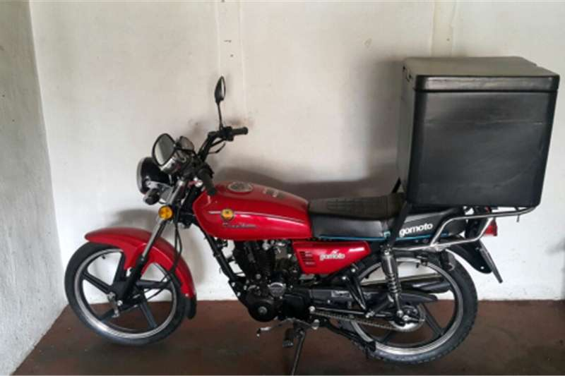 Gomoto Bike brand new 0 kilometers with carrier box and H 0