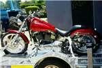 Harley Davidson and Trailer 2004