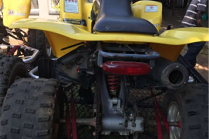 Honda 400 Quad Bike just serviced and new battery 0