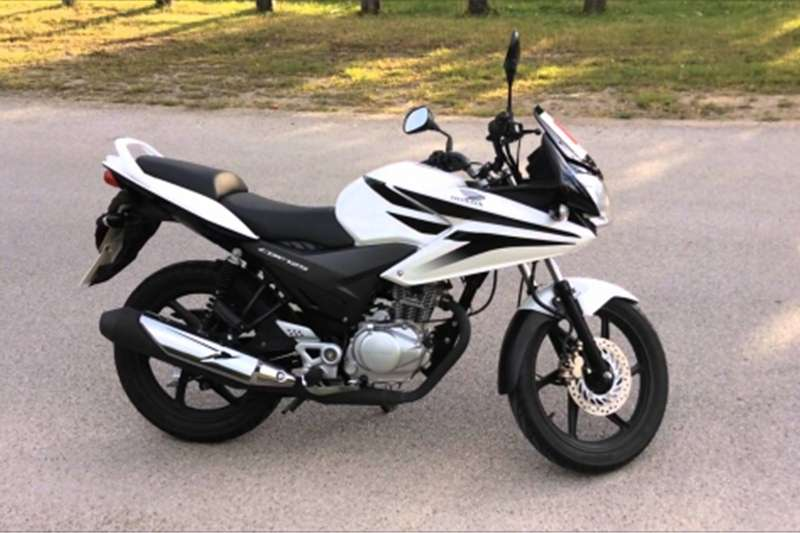 Honda CBF 125cc   White 0