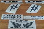 Honda CBR 1100 XX Super blackbird decals stickers graphics k 1998