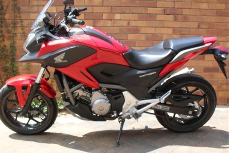 Honda NC700X Adventure Bike 0