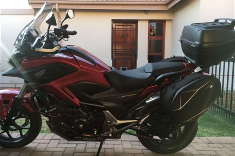 Honda NC750XManual Fully Kitted 2015