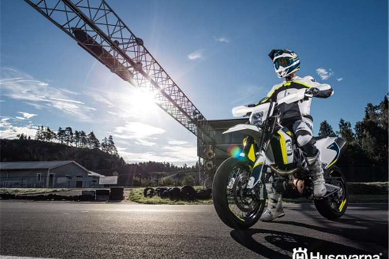 Husqvarna 701 Supermoto ASAP Racing special 2017