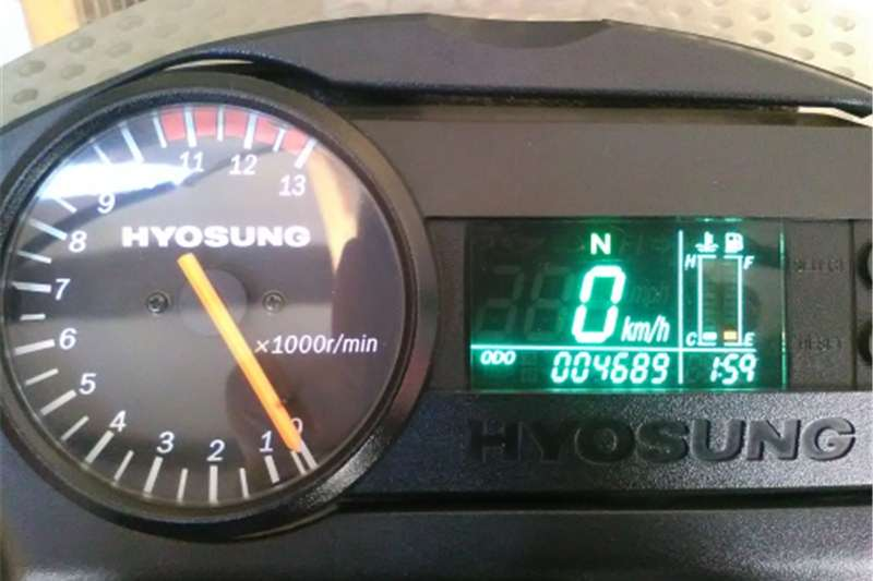 Hyosung GT650 S/R 2006