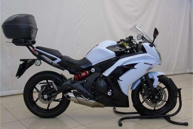 Kawasaki ER 650F 2013