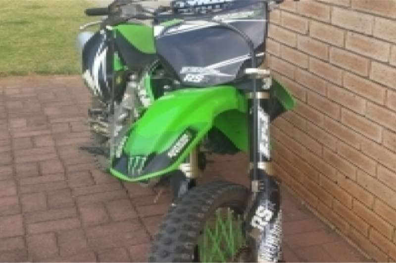 Kawasaki KX250F 2012