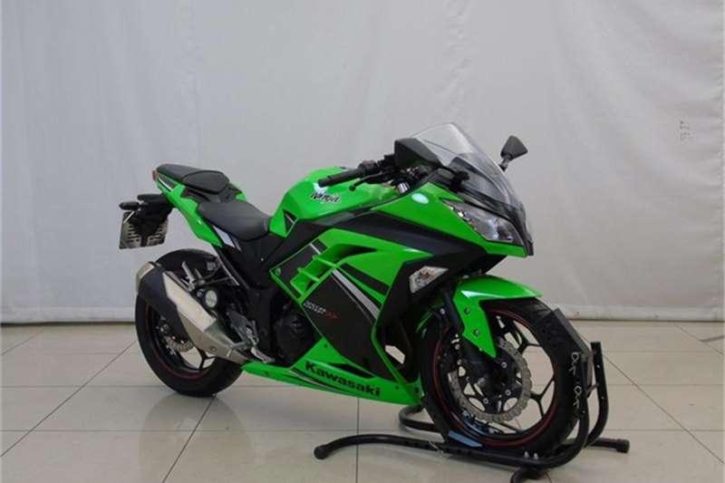 Kawasaki Ninja 300R (ex300) 2014