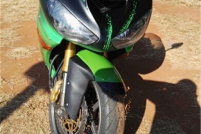 Kawasaki Ninja to swop 2005