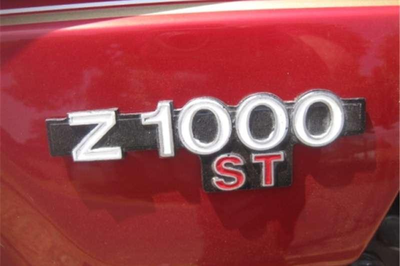 Kawasaki Z1000ST   Shaft Drive   Collector's Item   R35 000 0