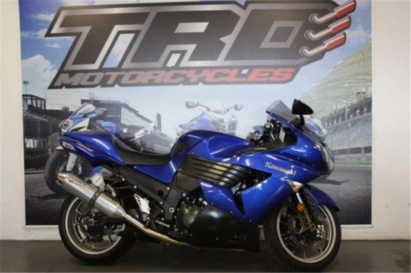 Kawasaki ZX 14 Blue 2006