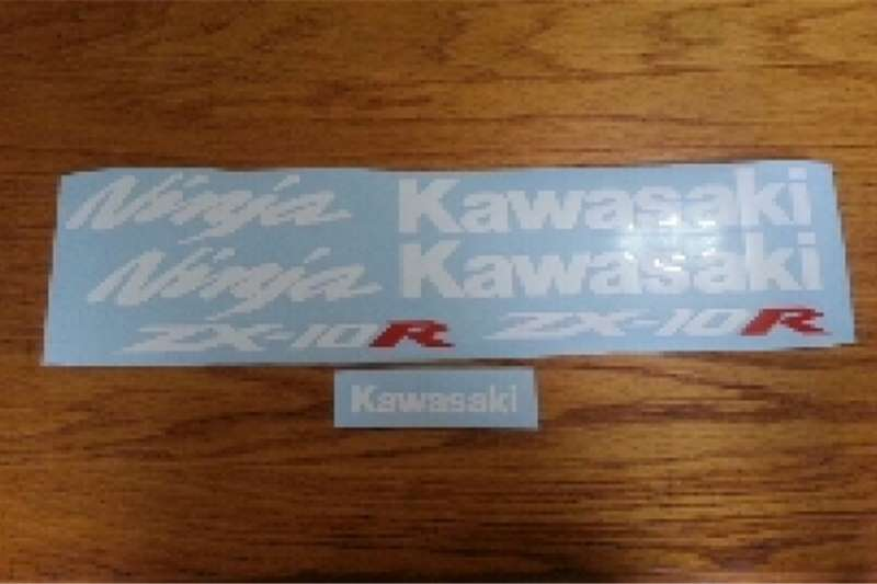 Kawasaki ZX10-R graphics stickers decal kits 0