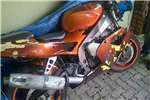 Kawasaki ZXR 400 accident damaged 0