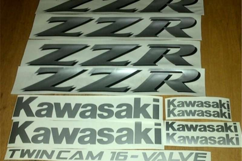 Kawasaki ZZR decals graphics sticker sets for all models 0