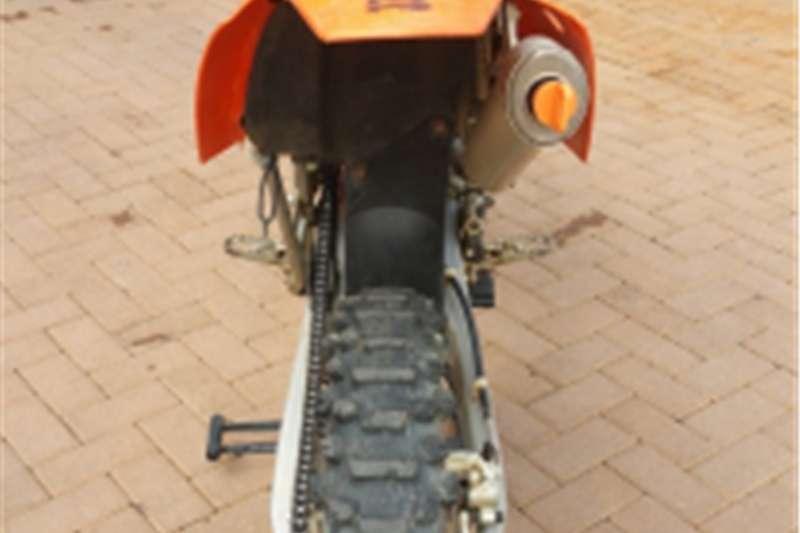 KTM 200 EXC plus MECHTER 3 bike trailer 2005