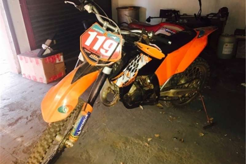 KTM BIKE 125CC 2 STROKE   FOR SALE 0