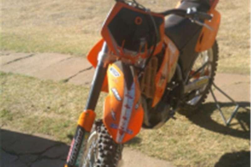 KTM Offroad Bike 250cc 2005