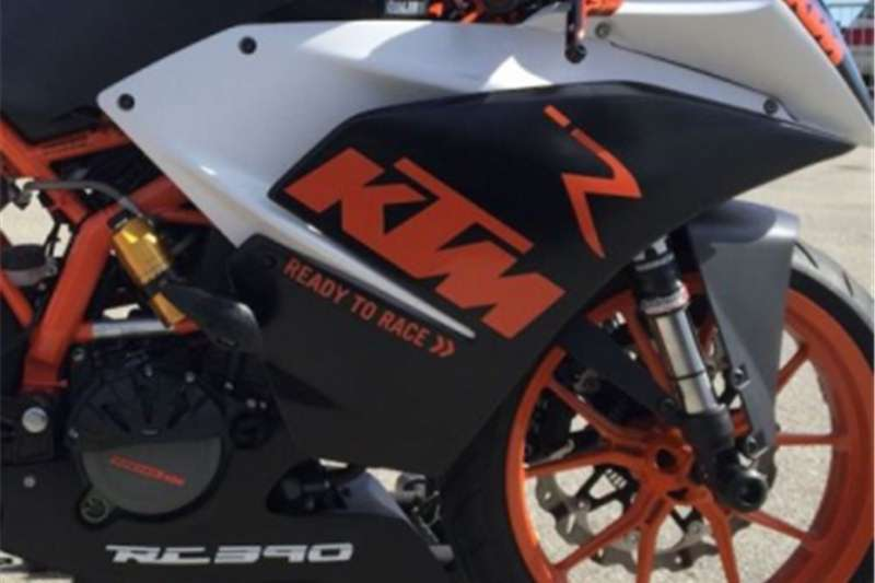 KTM RC 390 graphics stickers decals 0