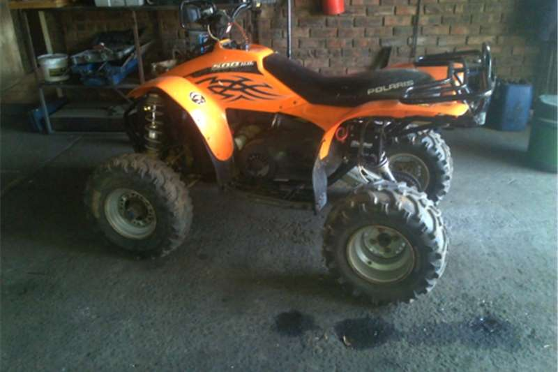 Polaris Scrambler 500 H.O  Semi 4x4  Full Auto Matic Quad 2005