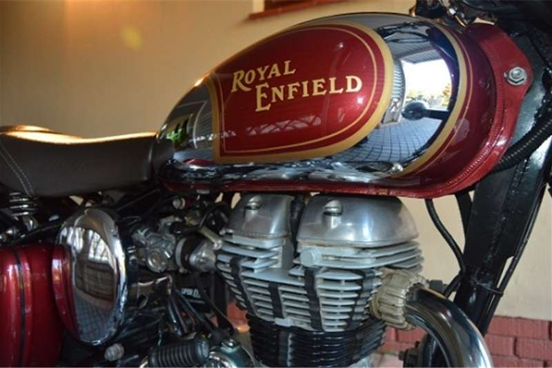 Royal Enfield Classic Chrome 500 Red 2012