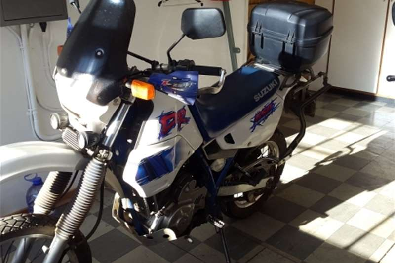 Suzuki DR650 Project bike 1994