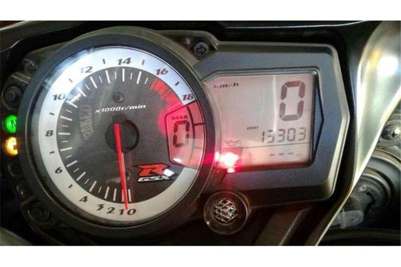 Suzuki GSX R600 2009