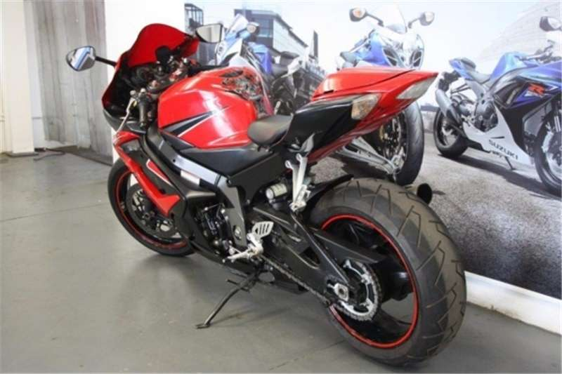 Suzuki GSXR 1000 Red and black 2006