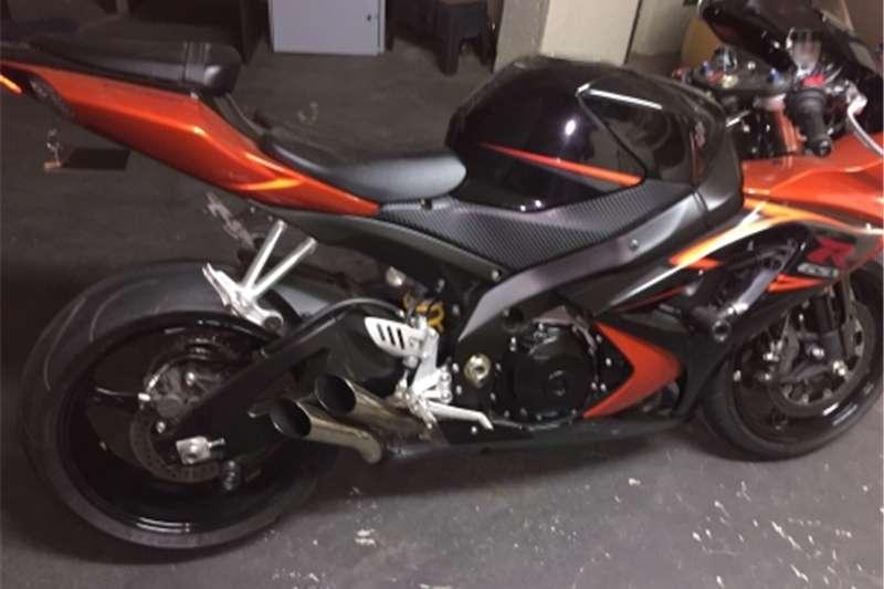 Suzuki GSXR1000 Black/Orange 0