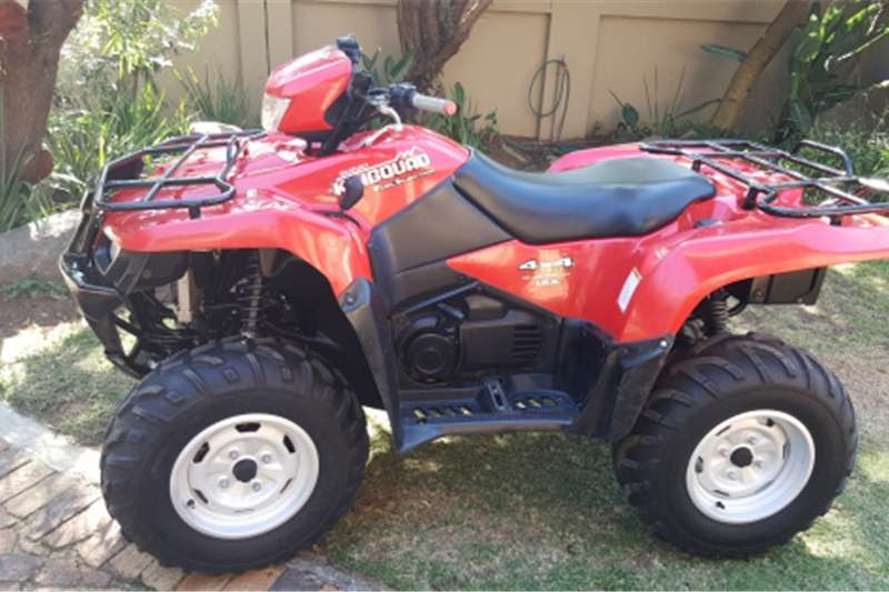 Suzuki King Quad 700 4x4 Utility Quad Bike 0