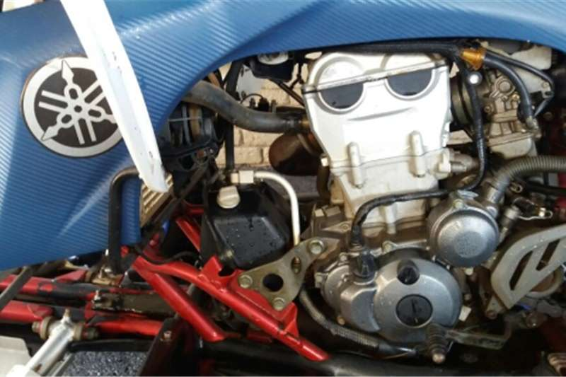 Suzuki LT-Z400 & Yamaha YFZ 450 0