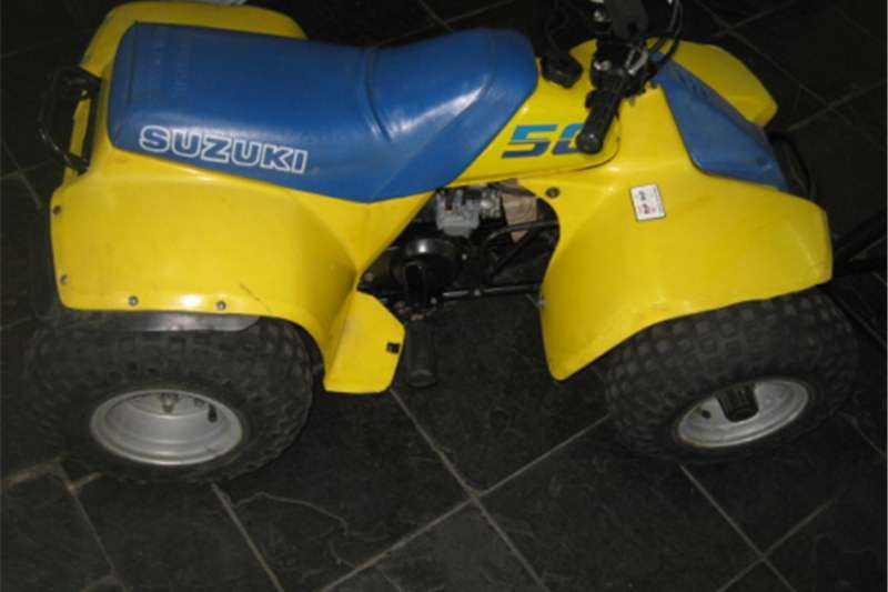Suzuki LT50   Quad Bike   Collector's Item   R9 500 0